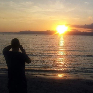 Majorca beach_sunset