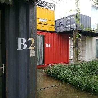 We stayed at B2