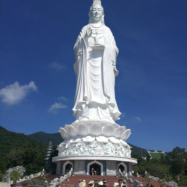 White Lady Buddha
