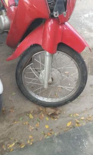 Wheel got bend