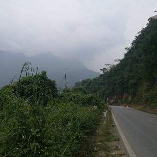 On the way to Mai Chau