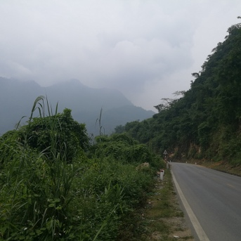 On the way to Mai Chau