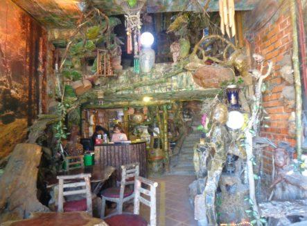 Entrance of Maze bar